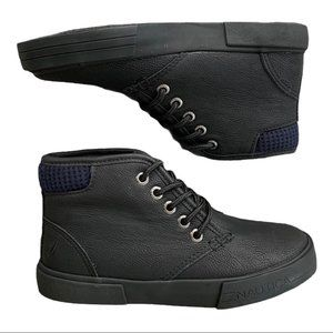 Nautica breakwater youth black tumbled boot 2